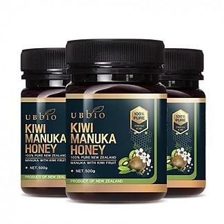 [유비바이오] 뉴질랜드 키위 마누카 꿀 500g  3개