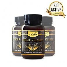 [유비바이오] 바이오액티브 녹용(발효녹용) 500mg 120캡슐 3개