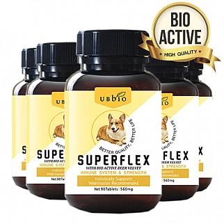 [유비바이오]슈퍼플렉스 90정 /녹용,홍삼함유/면역,영양 6개