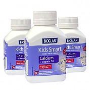 [바이오글란 키즈] 스마트 칼슘+비타민D3 50정 3개