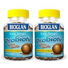 [바이오글란 키즈] 스마트 프로바이오틱 쵸코볼 50정 2개(키즈유산균)