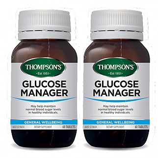 [톰슨] 글루코매니저 (혈당 조절) 60캡슐 2개