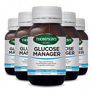 [톰슨] 글루코매니저 (혈당 조절) 60캡슐 6개