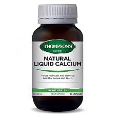 [톰슨] 리퀴드(액상) 칼슘 60캡슐 1개