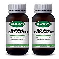 [톰슨] 리퀴드(액상) 칼슘 60캡슐 2개