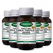 [톰슨] 밀크시슬 42000mg 60정 6개