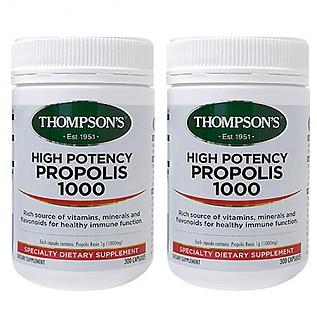 [톰슨] 프로폴리스 1000mg 300캡슐 2개