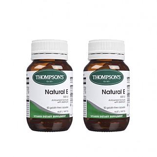 [톰슨] 비타민 네츄럴 E 500IU 50캡슐 2개