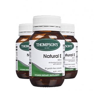 [톰슨] 비타민 네츄럴 E 500IU 50캡슐 3개