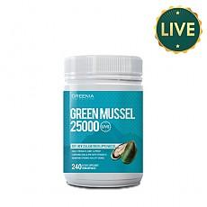 [그리니아] 그린리피드 25000 플러스 240캡슐 (100% 뉴질랜드 라이브 초록입홍합) 1개