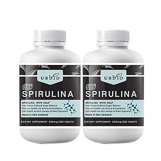 [유비바이오] 스피루리나 (피부건강/항산화/면역력증진) 500tab  2개
