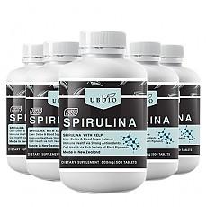 [유비바이오] 스피루리나 (피부건강/항산화/면역력증진) 6개