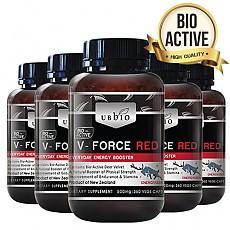 [유비바이오]V-Force 브이포스 레드(녹용,녹혈) 500mg 360tab 6개