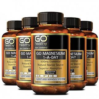 [고헬씨] 마그네슘 (ONE-A-DAY) 500mg 60캡슐 6개
