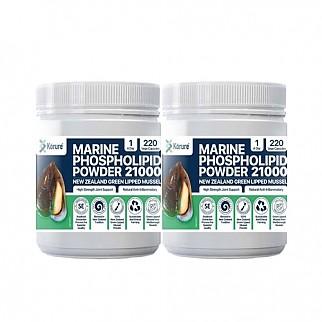 [코루레]초록입홍합 파우더 21000 220캡슐 2개